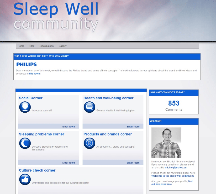 Philips Sleep Well community