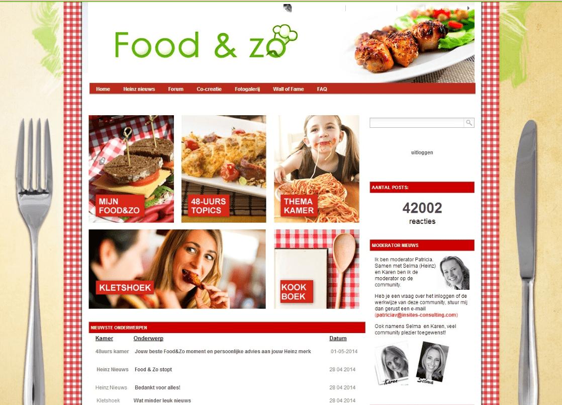 Heinz Food & zo community