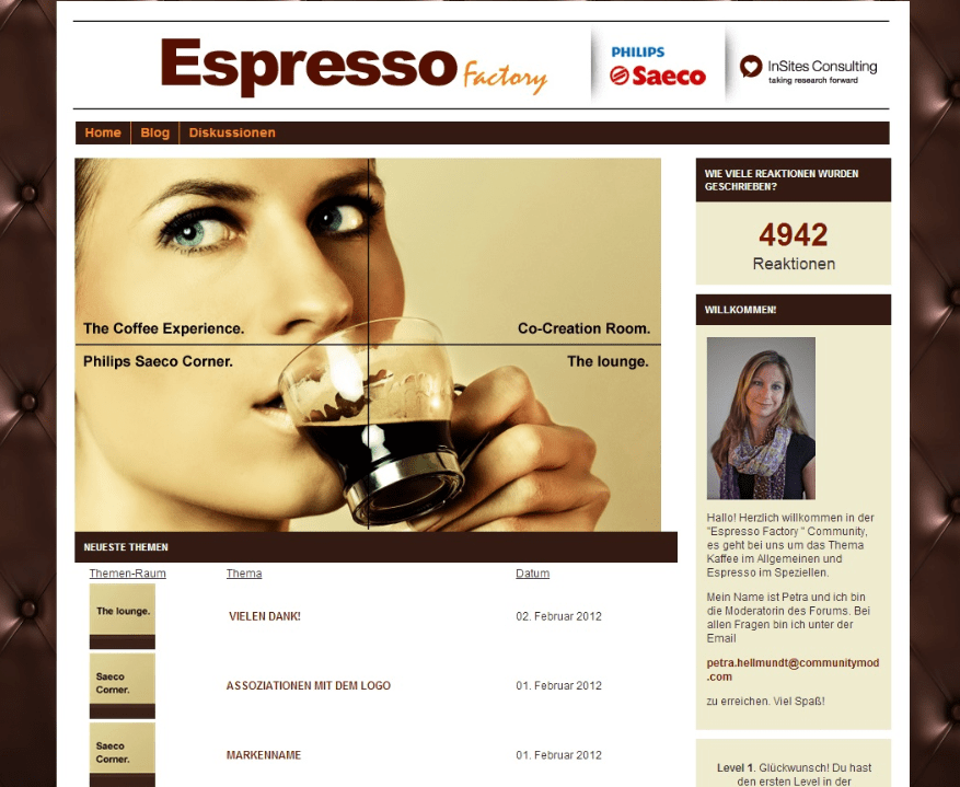 Philips Espresso community