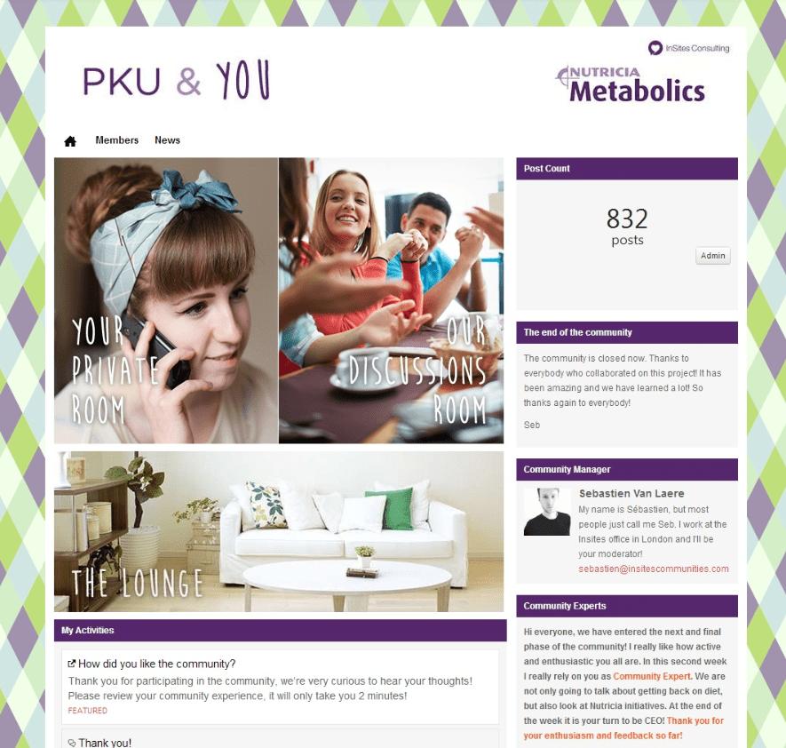 Nutricia PKU & You community