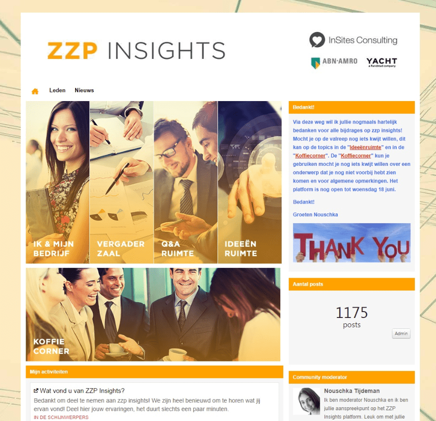 ABN Amro ZZP Insights community