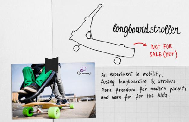 Dorel Longboard stroller