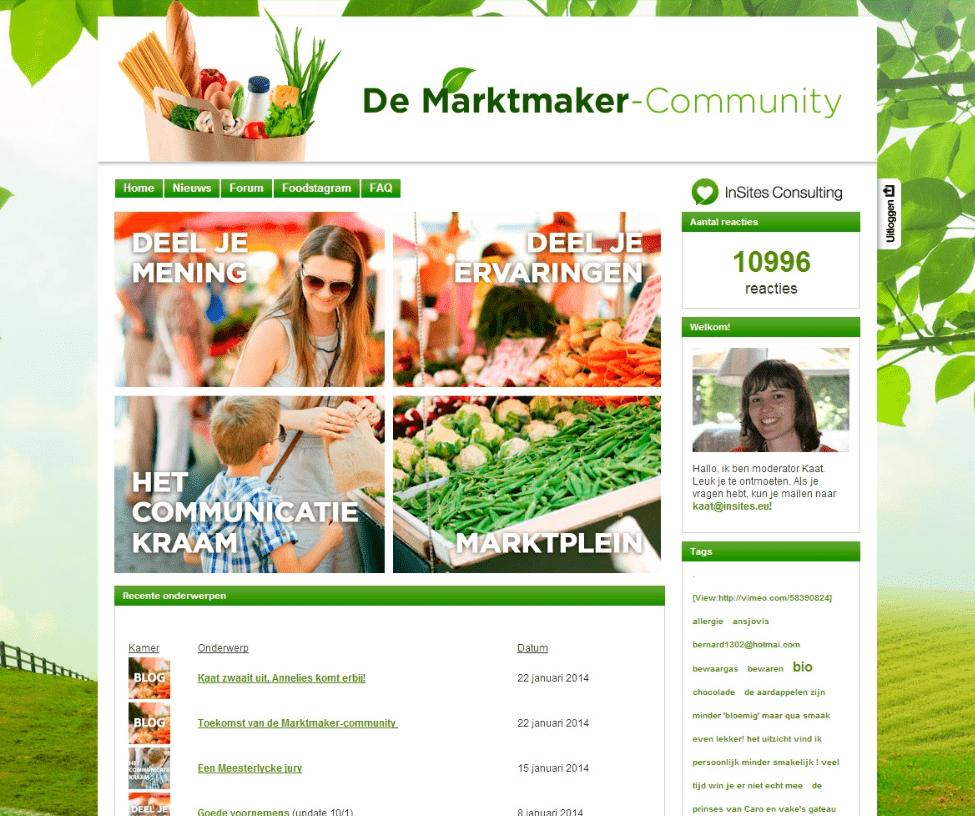 VLAM Marktmaker community