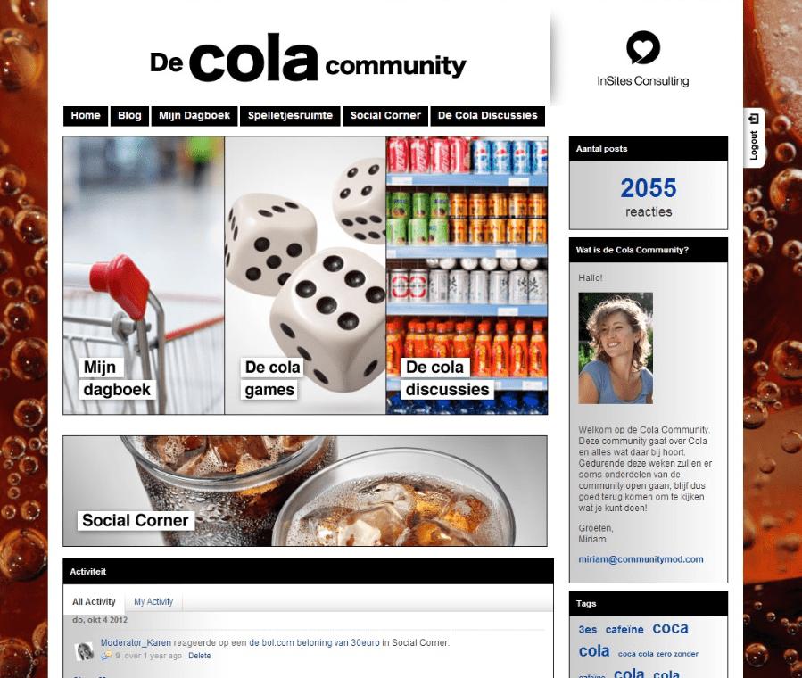 Vrumona cola community