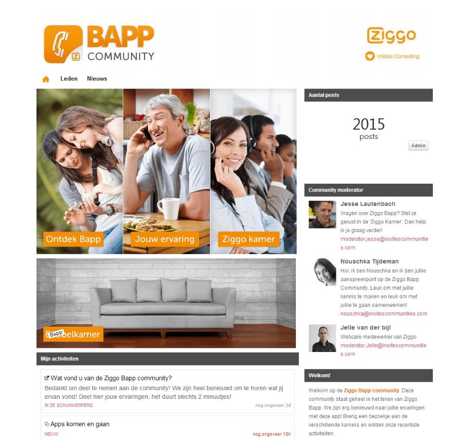 Ziggo bapp community