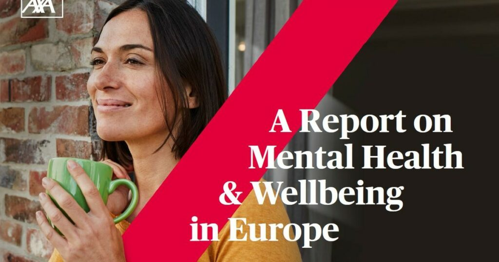 AXA report on mental health & welbeing in Europe