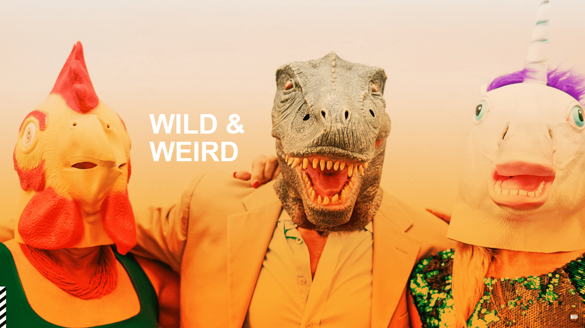 Wild & Weird - 2021 Culture + Trends report by InSites Consulting