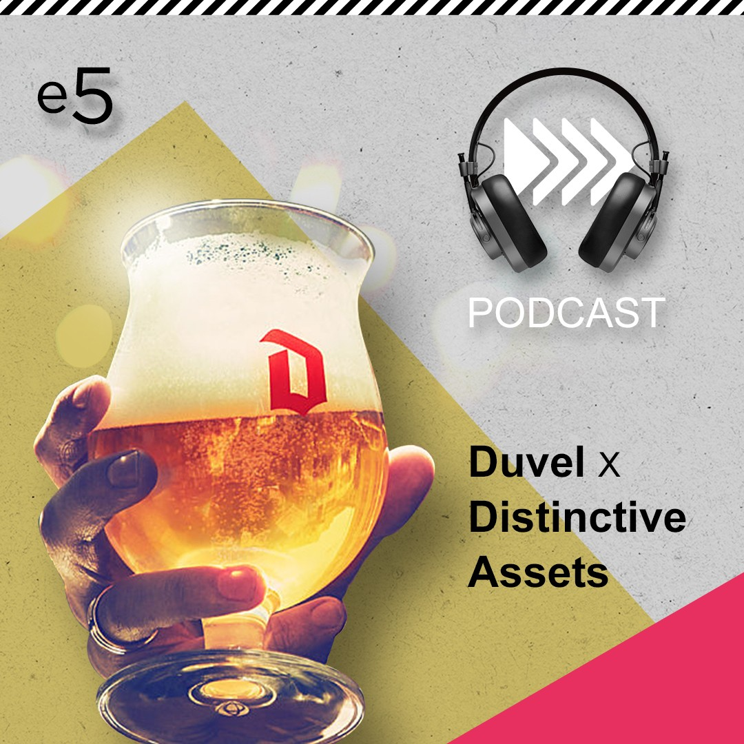 Duvel x Distinctive Assets - podcast by InSites Consulting