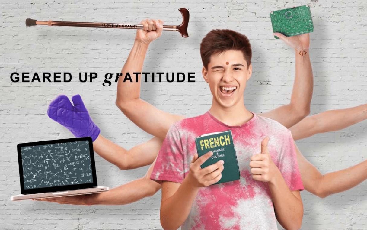 Gen Z Unmasked - Geared up gratitude