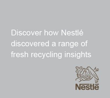 Crafting actionable insights on sustainability for Nestlé