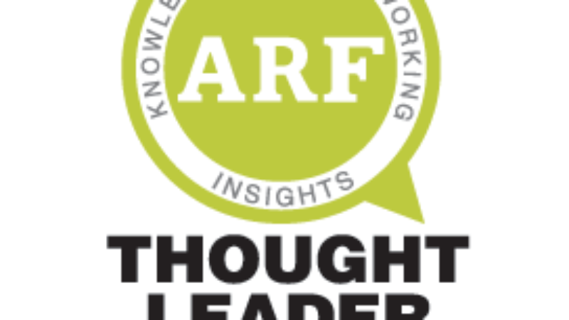 ARF Thought Leader Series