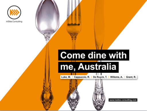 Come dine with me Australia