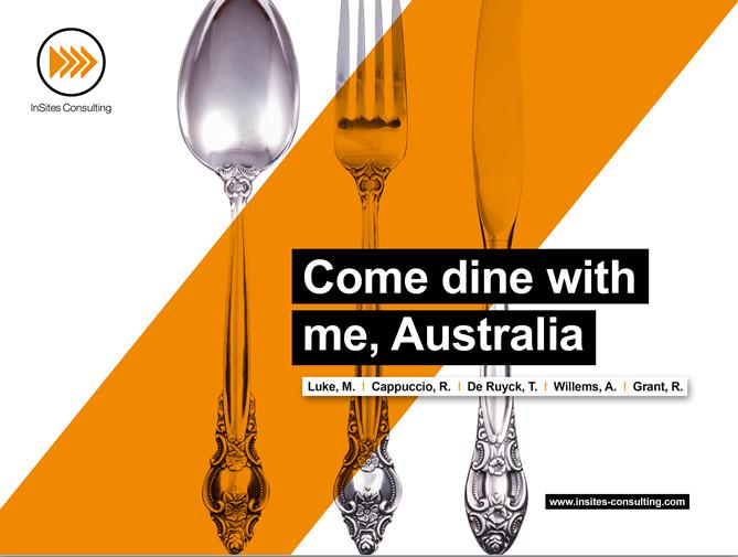 Come dine with me Australia