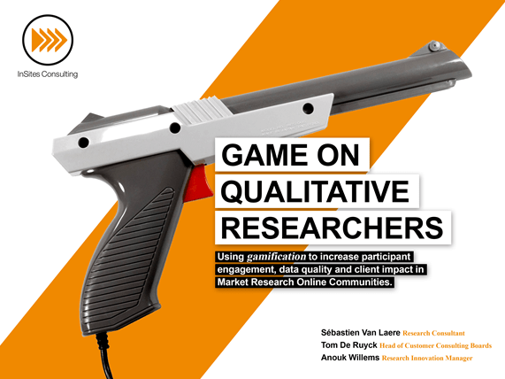 Game on qualitative researchers