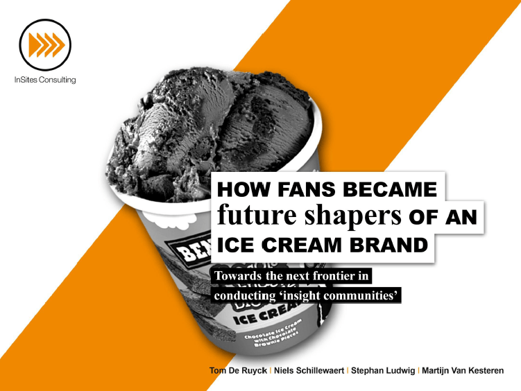 How fans became future shapers of an ice cream brand