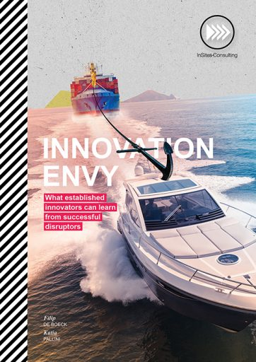 Innovation Envy bookzine cover