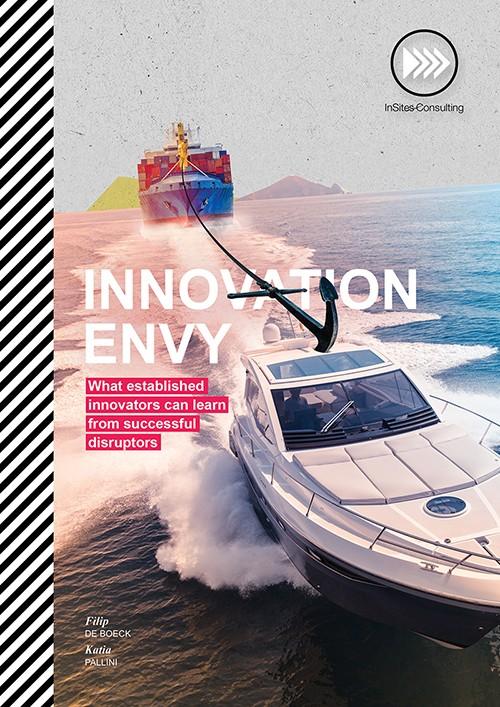 Innovation Envy bookzine cover