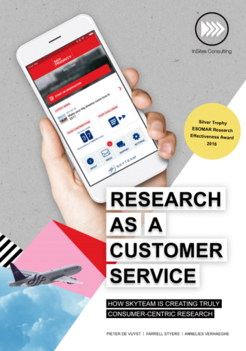 Research as a customer service