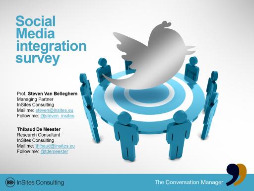 Social Media Integration Survey